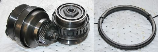 JF015E Pulleys+Belt