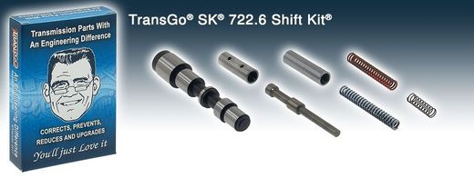 Shift kit 722.6/NAG1 TransGo 96->